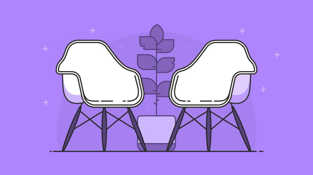 one on one / cadeiras