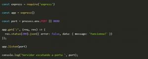 Dockerizando uma api em Node JS